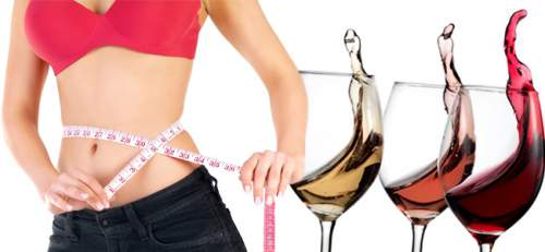 red wine lose weight