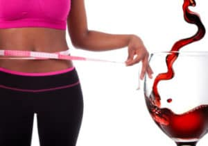 red wine weight loss