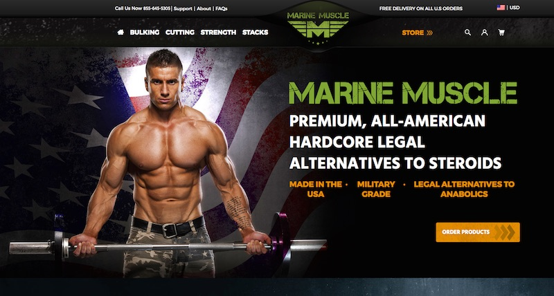 "Marine Muscle Review: ""Military Grade"" American Bodybuilding Supplements with Steroid-Like Effect 8"