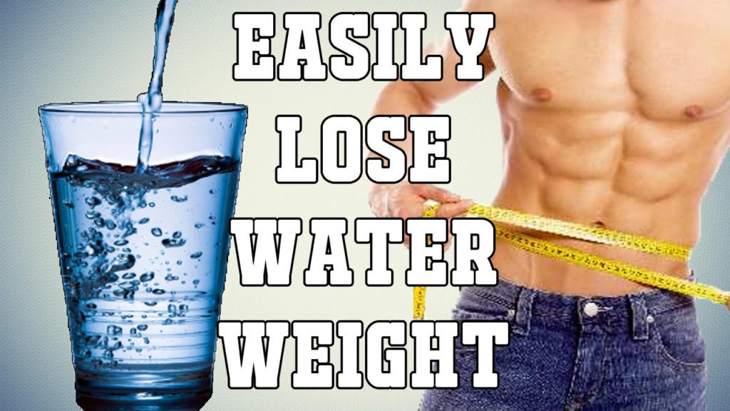 easy ways to lose water weight