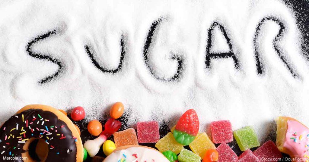 sugar inatake foods
