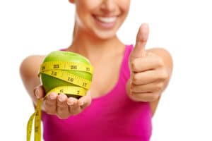 woman weight loss carb blocker