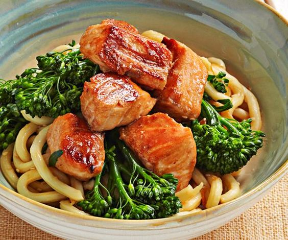 salmon noodles weight loss